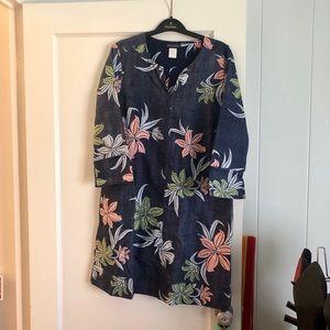 NWT Reyn Spooner long sleeve dress, size small